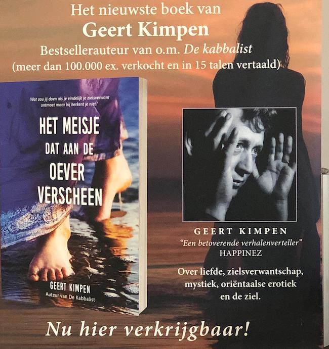 De nieuwe lezing van bestsellerauteur Geert Kimpen – bekend van onder meer De Kabbalist